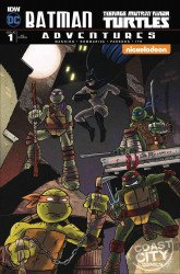 IDW Publishing's Batman / Teenage Mutant Ninja Turtles Adventures Issue # 1coast city