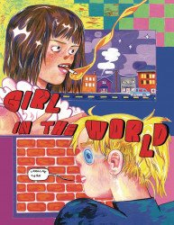 Silver Sprocket's Girl In The World Soft Cover # 1b