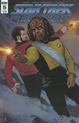 IDW Publishing's Star Trek: The Next Generation - Terra Incognita Issue # 5