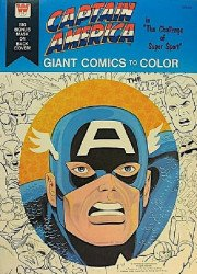 Whitman's Giant Comics to Color: Captain America Soft Cover # 1