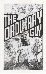 Double Edge Publications's The Ordinary Guy Issue ashcan