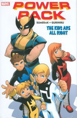 Power pack the kids are alright hard cover 1 marvel comicbookrealm