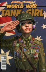 Titan Comics's Tank Girl: World War Tank Girl Issue # 3b