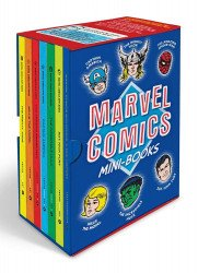 Abrams ComicArts's Marvel Comics Mini Books Hard Cover set box
