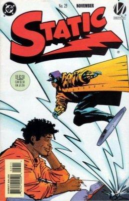 FN Static #4 September 1993 DC Comic Book