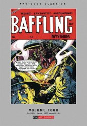 PS Artbooks's Pre-Code Classics: Baffling Mysteries Hard Cover # 4