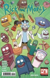 Oni Press's Rick and Morty Issue # 40