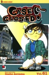 Viz Media's Case Closed Soft Cover # 61