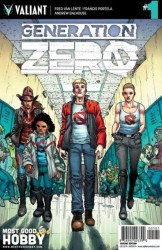 Valiant Entertainment's Generation Zero Issue # 1most good hobby
