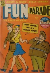Harvey Publications's Army and Navy Fun Parade Issue V1-6