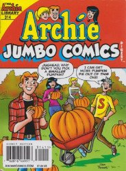 Archie Comics Group's Archie: Jumbo Comics Digest Issue # 314