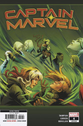 Marvel Comics's Captain Marvel Issue # 4 - 2nd print