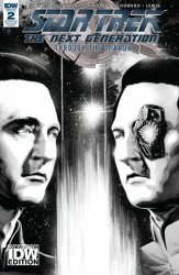 IDW Publishing's Star Trek the Next Generation: Through the Mirror Issue # 2re