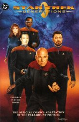 DC Comics's Star Trek: Generations Issue # 1b
