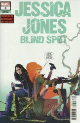 Marvel Comics's Jessica Jones: Blind Spot Issue # 3b