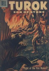 Dell Publishing Co.'s Turok, Son of Stone Issue # 9b