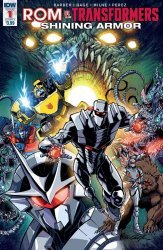 IDW Publishing's ROM vs Transformers: Shining Armor Issue # 1