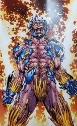 Valiant Entertainment's X-O Manowar Issue # 1borderland-b