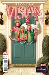 Marvel Comics's The Vision Issue # 1