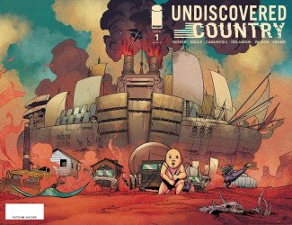 Image Comics's Undiscovered Country Issue # 1 - 3rd print