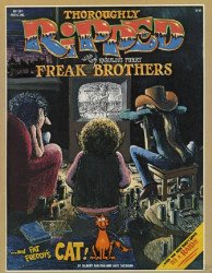 Rip Off Press's Thoroughly Ripped with the Fabulous Freak Brothers and Fat Freddy's Cat Issue nn