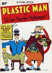 Vital Publications's Plastic Man Issue # 2flashback