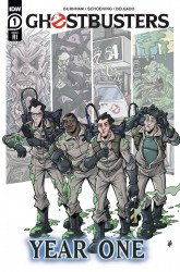 IDW Publishing's Ghostbusters: Year One Issue # 1ri