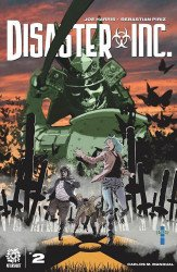 AfterShock Comics's Disaster, Inc. Issue # 2b