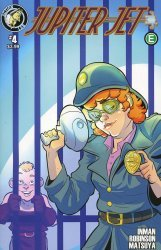 Action Lab Entertainment's Jupiter Jet Issue # 4