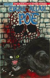 Eternity Comics's Edgar Allan Poe: Black Cat & Other Stories Issue # 1