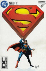 DC Comics's Superman: Man of Steel Issue # 58b