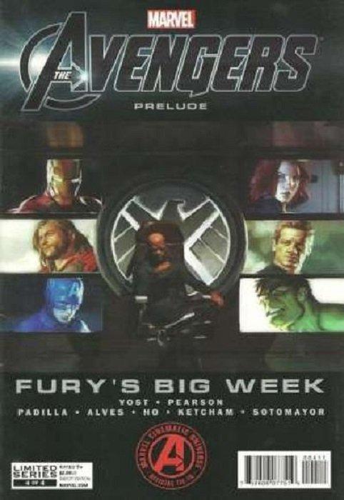 Avengers Prelude: Fury's Big Week Issue # 4 (Marvel Comics)