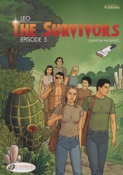 Cinebook's Survivors: Quantum Anomalies  Soft Cover # 5