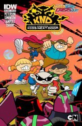 IDW Publishing's Super Secret Crisis War: Codename Kids Next Door Issue # 1sub
