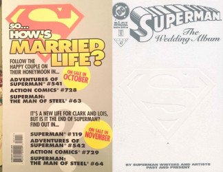 DC Comics's Superman: Wedding Album Issue # 1d