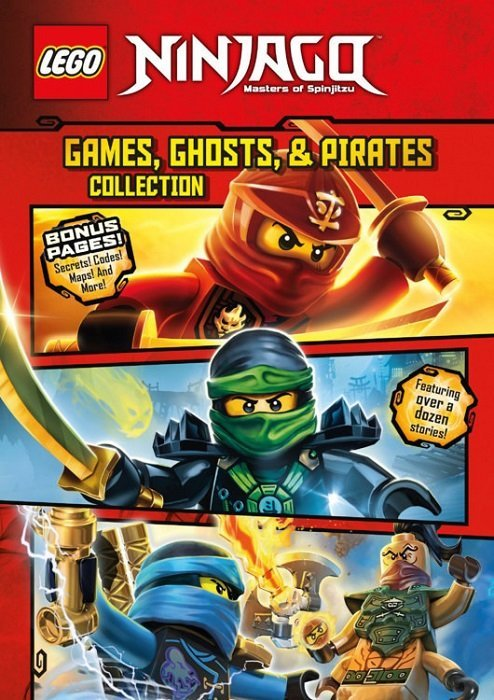 Lego Ninjago: Games, Ghosts & Pirates Collection Hard Cover nn ...