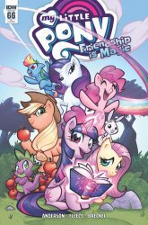 IDW Publishing's My Little Pony: Friendship is Magic Issue # 66ri