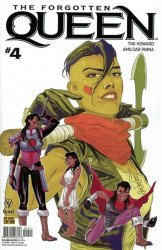 Valiant Entertainment's Forgotten Queen Issue # 4d