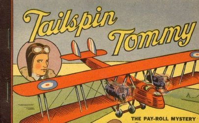 Whitman's Tailspin Tommy: The Pay-Roll Mystery Soft Cover nn