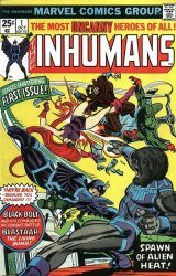 Marvel Comics's The Inhumans Issue # 1