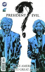 Antarctic Press's President Evil Issue # 1