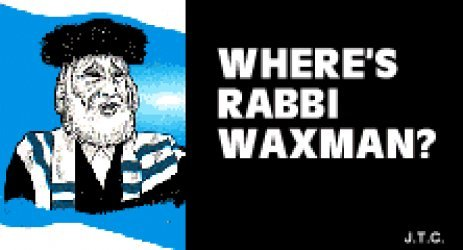 Chick Publications's Where's Rabbi Waxman? Issue nn
