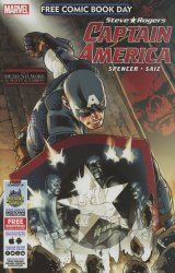 Marvel's Captain America: Free Comic Book Day Issue # 1b