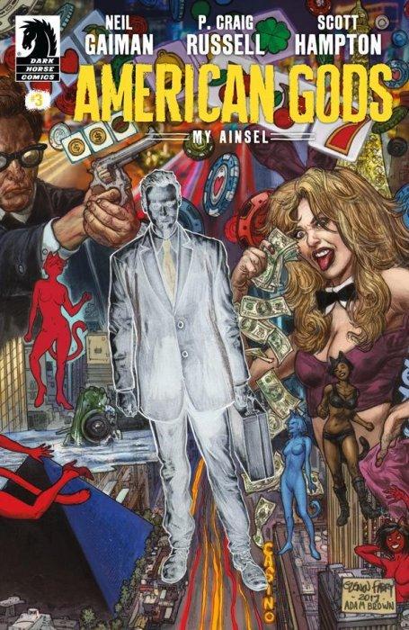 Neil Gaiman American Gods Shadows #1 2 3 4 5 6 7 8 9 NM Dark Horse Comics 2017