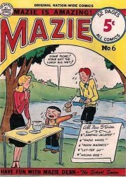 Nation-Wide Publishers's Mazie Issue # 6