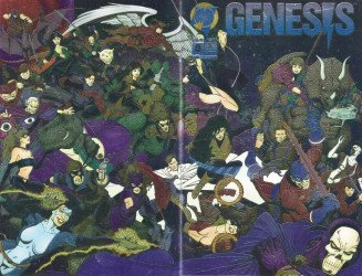 Malibu Comics's Genesis Issue # 0