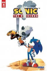 IDW Publishing's Sonic the Hedgehog Issue # 4 - 2nd print