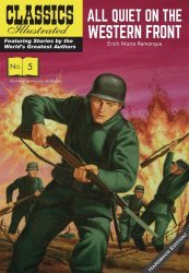 Classics Illustrated Comics's Classics Illustrated: All Quiet On The Western Front Hard Cover # 1