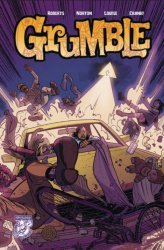 Albatross Exploding Funny Book's Grumble Issue # 4