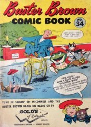 Buster Brown Shoes's Buster Brown Comics Issue # 34golds